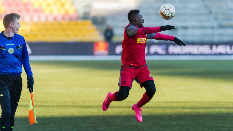 Dominic Oduro klar til at spille for FCN